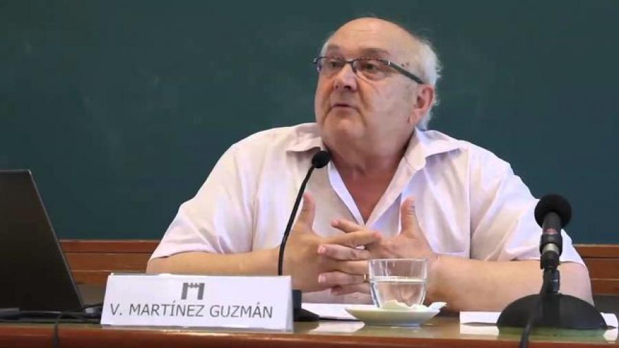 Vicent Martínez Guzmán, filósofo de la paz