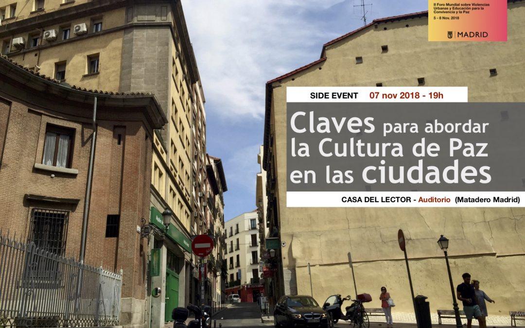 Claves para abordar la cultura de paz en las ciudades