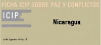 Ficha ICIP sobre Paz y Conflictos: Nicaragua