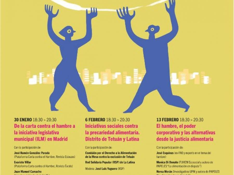 """Ciclo """"Justicia Alimentaria en la Ciudad"""""""