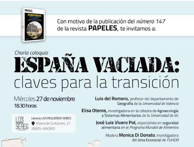 España vaciada: claves para la transición