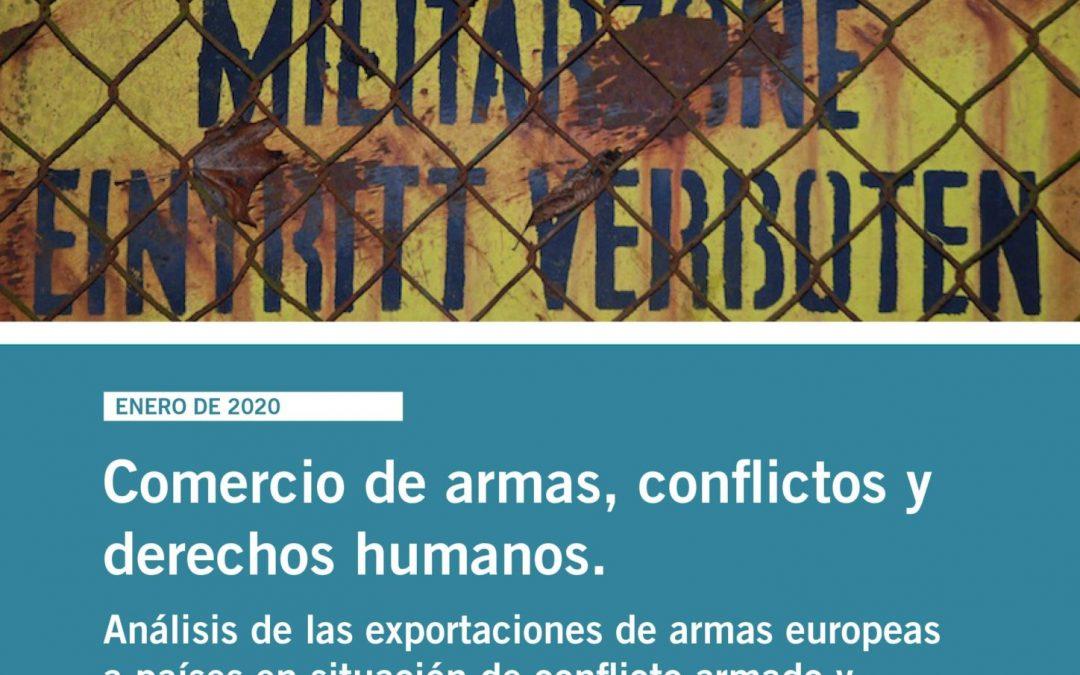 Comercio de armas, conflictos y derechos humanos