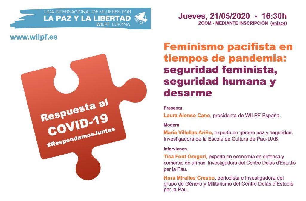 Seguridad Feminista, Seguridad Humana y Desarme